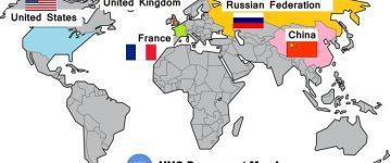 संयुक्त राष्ट्र संघ के स्थाई सदस्य